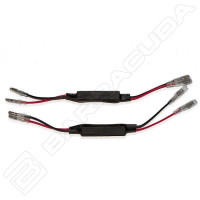 Barracuda pair of 10WATT resistor for D Version Mirrors