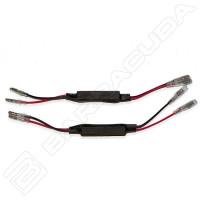 Barracuda pair of 10WATT resistor for D Version Mirrors