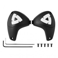 Rev'it elbow slider Matt black White