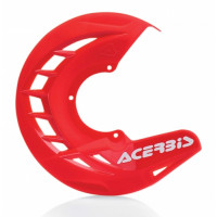 Front disc cover Acerbis 0016057 X-BRAKE Red