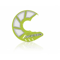 Front disc cover Acerbis 0021846 X-BRAKE 2.0 Fluo yellow