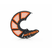 Front disc cover Acerbis 0021846 X-BRAKE 2.0 Black Orange