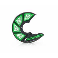 Front disc cover Acerbis 0021846 X-BRAKE 2.0 Black Green