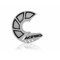 Front disc cover Acerbis 0022264 X-BRAKE 2.0 KTM - HUSQVARNA White Bl