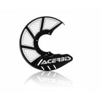 Front disc cover Acerbis 0022264 X-BRAKE 2.0 KTM - HUSQVARNA Black Wh