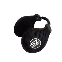Midland SubZero HI-FI stereo headphone winter pierced fabric black