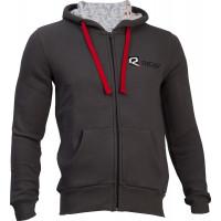 Riday Cotton hoodie Dark Grey