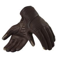 Woman summer motorcycle gloves Rev'It Ladies Brown Antibes