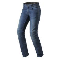 Jeans moto Rev'it Corona medium blu L34
