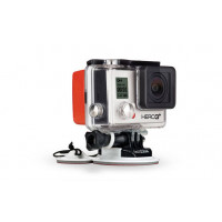 Float with mounting security GoPro
