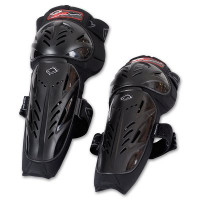 Pair knee UFO Black Limited