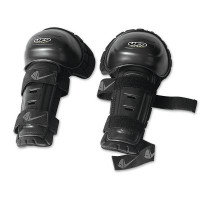 Pair knee Knee Shin thermoformed UFO Black