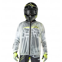 Acerbis Rain Pro rain jacket clear