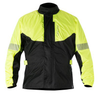 Alpinestars Hurricane rain jacket yellow fluo black