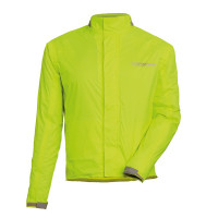 Tucano Urbano super-compact raincoat Nano Rain Jacket Plus yellow fluo