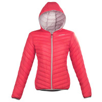 Giacca moto donna Acerbis Louis Lady Rosso Bianco