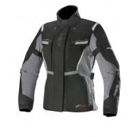 Alpinestars STELLA BOGOTA' v2 DRYSTAR woman touring jacket 3 layers Black Grey dark