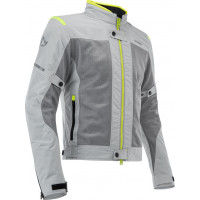 Acerbis RAMSEY VENTED CE woman summer jacket Grey Yellow