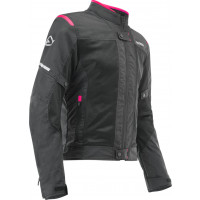 Acerbis RAMSEY VENTED CE woman summer jacket Black Pink