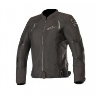 Alpinestars STELLA WAKE AIR lady summer touring jacket black black