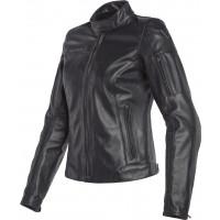 Dainese NIKITA 2 LADY woman leather jacket Black