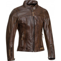 Ixon CRANK AIR LADY woman leather jacket Brown