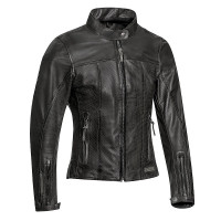 Ixon CRANK AIR LADY woman leather jacket Black