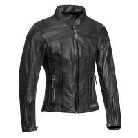 Ixon CRANK AIR LADY woman leather jacket Black