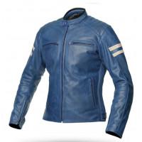 Spyke MILANO 2.0 LADY woman summer leather jacket Blue