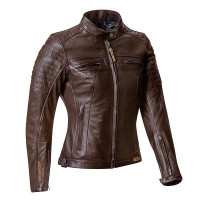 Ixon TORQUE LADY woman leather jacket Brown