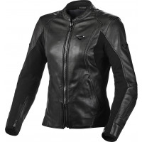 Macna Tequilla woman leather jacket Black