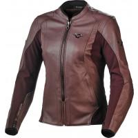 Macna Tequilla woman leather jacket Dark Pink