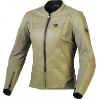 Macna Tequilla woman leather jacket Olive
