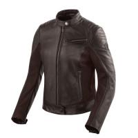 Rev'it Clare Ladies leather jacket Dark Brown