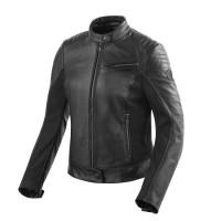 Rev'it Clare Ladies leather jacket Black