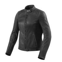 Rev'it Rosa Ladies leather jacket Black