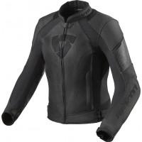 Rev'it Xena 3 Ladies leather jacket Black