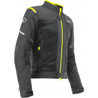 Acerbis RAMSEY VENTED CE summer jacket Black Yellow