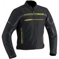 Ixon jacket Zetec Light HP Black grey yellow