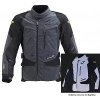 Macna Equator Night Eye 3 layers jacket Black dark grey