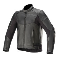 Alpinestars SP-55 LEATHER JACKET Sport Leather Jackets Black