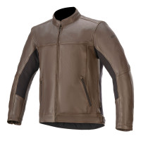 Alpinestars TOPANGA leather jacket Brown