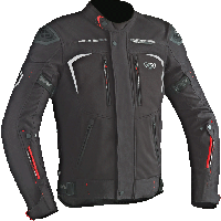 Ixon motorcycle touring winter Jacket Spectrum HP Black
