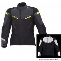 Macna touring jacket Myth WP Night Evo black fluo yellow