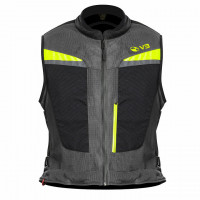 Motoairbag v3.0 Airbag Vest with Fast Lock Gray
