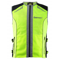 High visibility vest Befast Visor Fluo yellow