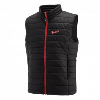 Vespa Modernist stopwind vest Black Red