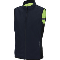Tucano Urbano NANO SWITCH reversible high visibility vest Dark Blue Fluo Yellow