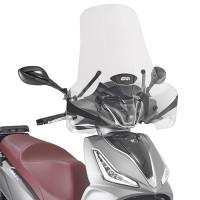 Givi 7057A Transparent windshield 49x66 cm for Piaggio - Kymco