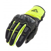 Acerbis Carbon G 3.0 cross gloves Yellow Black
